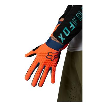 Fox Youth Defend Gloves - Atomic Punch