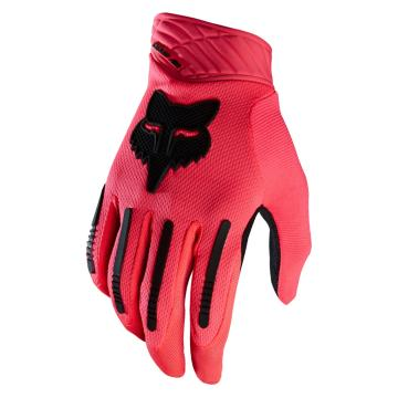Fox 2016 Demo Air MTB Gloves - Neon Red