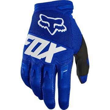Fox Dirtpaw Race Gloves - Blue/White - Blue/White