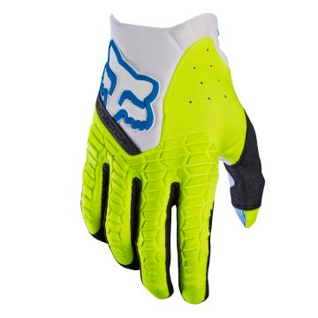 Fox 2017 Pawtector Gloves - White/Yellow