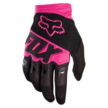 Fox 2018 Dirtpaw Race Gloves - Black/Pink