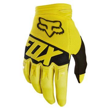 Fox 2018 Dirtpaw Race Gloves - Yellow