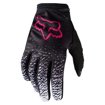 Fox 2018 Women's Dirtpaw Gloves - Black/Pink