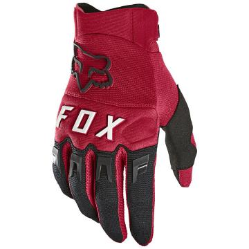 Fox Dirtpaw Gloves - Flame Red