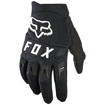Fox Youth Dirtpaw Gloves - Black/White - Black/White
