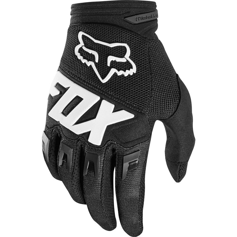 Youth Dirtpaw Race Gloves - Black