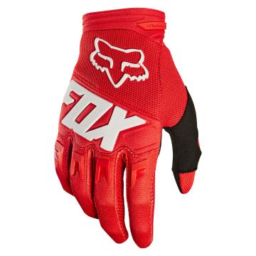 Fox 2018 Youth Dirtpaw Race Gloves - Red