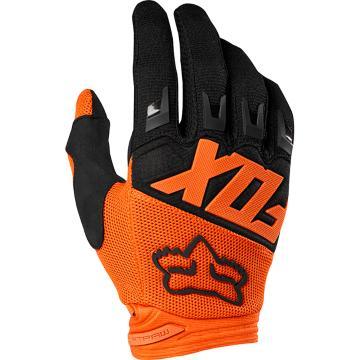 Fox Youth Dirtpaw Race Gloves - Orange