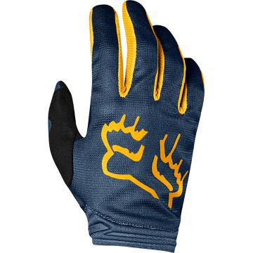 Fox Youth Girls Dirtpaw Mata Gloves - Navy/Yellow