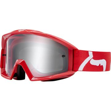 Fox Main Race Goggles - Red