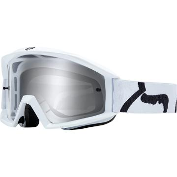 Fox Youth Main Race Goggles - White