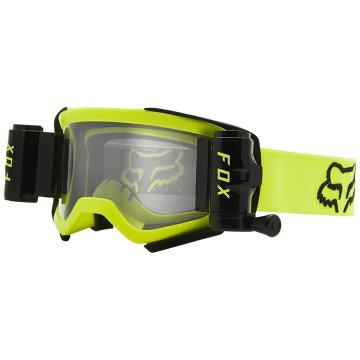 Fox Airspace Stray Roll Off Ready Goggles - Fluro Yellow
