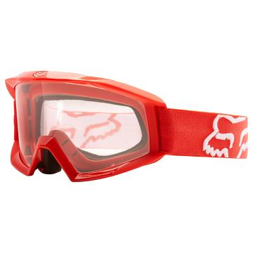 Fox 2017 Youth Main Goggles - Red/Clear
