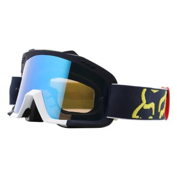 Fox 2018 Air Space Youth Preme Goggles - Navy/Red