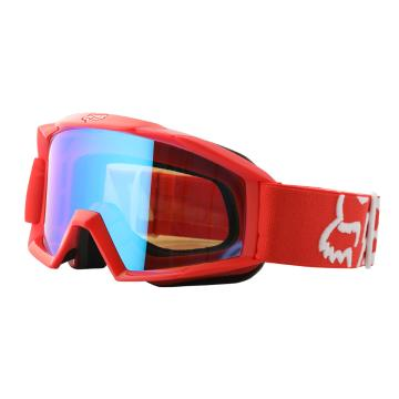 Fox 2018 Main Youth Race Goggles - Red