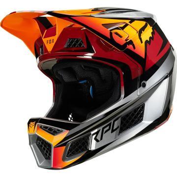 Fox 2019 Rampage Pro Carbon Helmet - Beast Iced