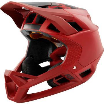 Fox 2019 Proframe Helmet - Matte Cardinal
