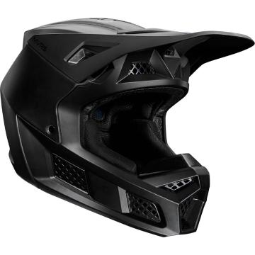 Fox V3 Solids Helmet ECE - Matte Black