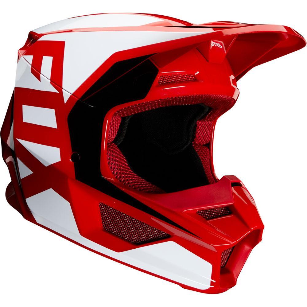 Youth V1 Prix Helmet - Flame Red