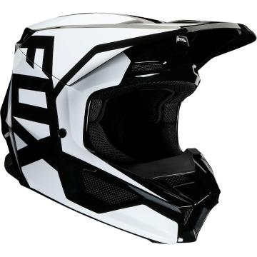 Fox Youth V1 Prix Helmet - Flame Red
