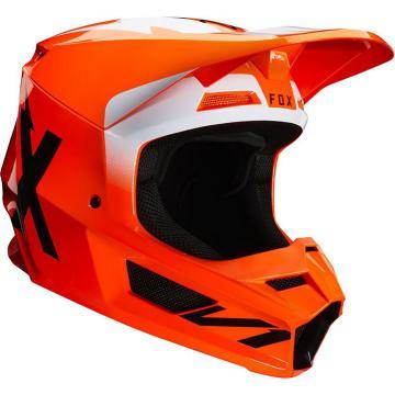 Fox V1 Werd Helmet ECE - Flo Orange