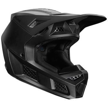 Fox V3 RS Solids Helmet ECE - Matte Black