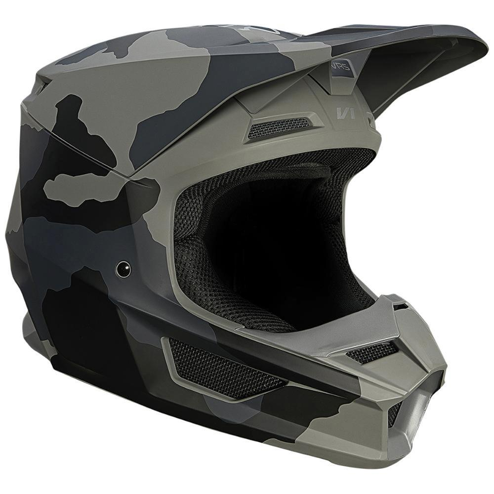 Youth V1 Trev Helmet ECE - Black Camo