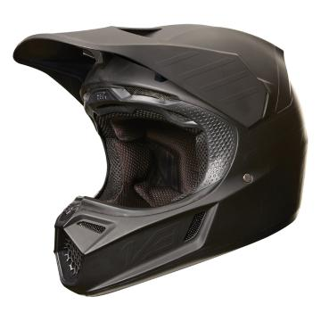 Fox V3 Matte Carbon Helmet