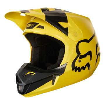 Fox 2018 V2 Mastar Helmet - Yellow
