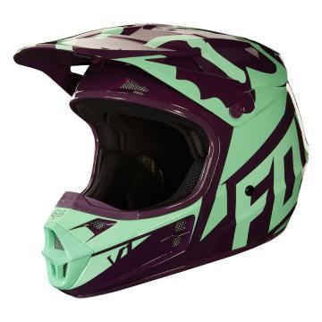 Fox 2018 V1 Race Helmet - Green