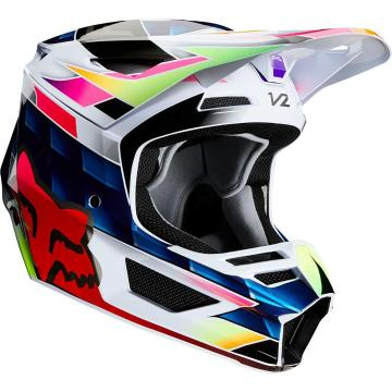Fox Youth V2 Kresa Helmet ECE - Multi