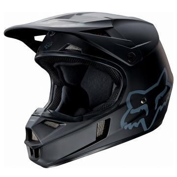 Fox V1 Youth Helmet - Matte Black