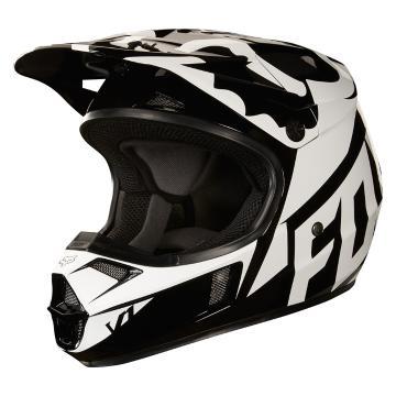 Fox 2018 Youth V1 Race Helmet - Black
