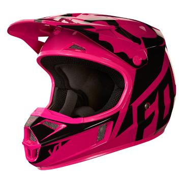 Fox 2018 Youth V1 Race Helmet - Pink