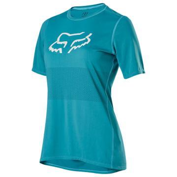 Fox 2020 Women's Ranger Short Sleeve Jersey - Aqua