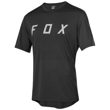 Fox Ranger Short Sleeve Fox Jersey - Black/Grey