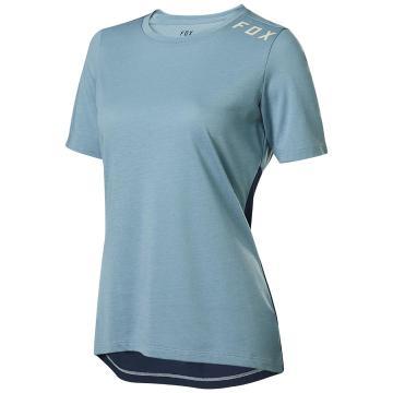 Fox Women's Ranger Dri-Release Short Sleeve Jersey - Light Blue