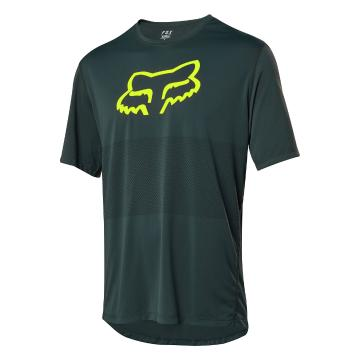 Fox Ranger Short Sleeve Foxhead Jersey - Emerald
