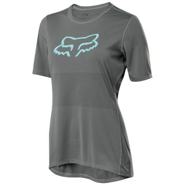 Fox Women's Ranger Short Sleeve Jersey - Pewter