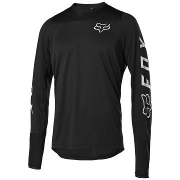 Fox Defend Long Sleeve Fox Jersey - Black