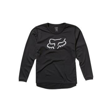 Fox Youth Ranger Long Sleeve Jersey - Black