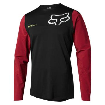 Fox 2018 Attack Pro Long Sleeve Jersey - Red/Black