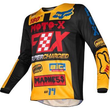 Fox 2019 Kids 180 Czar Jersey - Black/Yellow