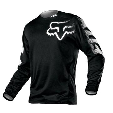 Fox Men's Blackout Jersey - Black