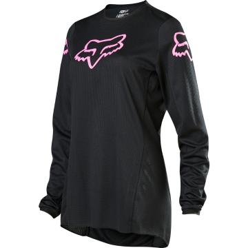Fox Women's 180 Prix Jersey - Black/Pink - Black/Pink
