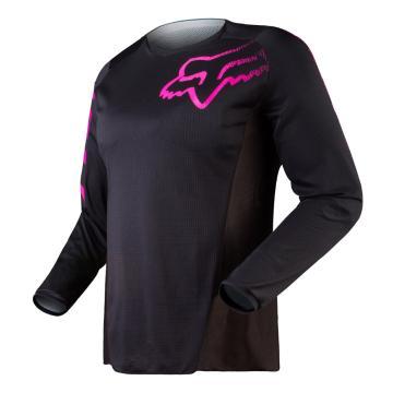 Fox 2018 Women's Blackout Jersey - Black/Pink