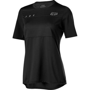 Fox Women's Flexair SS Jersey - Black