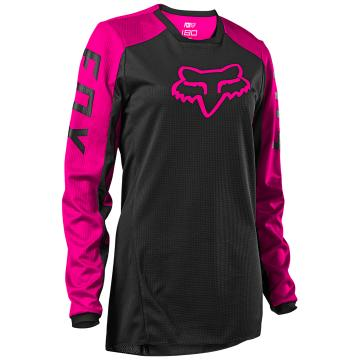 Fox Women's 180 Djet Jersey - Black/Pink