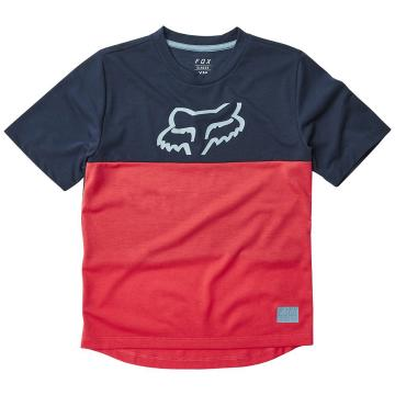 Fox Youth Ranger Dri-Release Short Sleeve Jersey - Bright Red