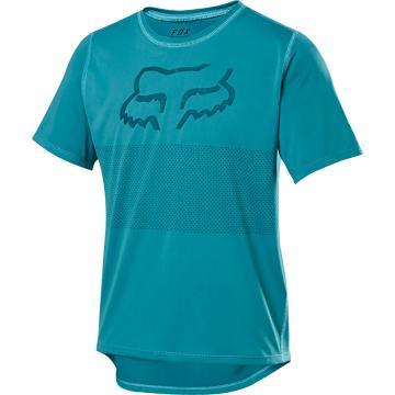 Fox 2020 Youth Ranger Short Sleeve Jersey - Aqua